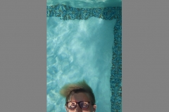 Adam Thompson of Abstract Miami at the Vanderbilt Mansion pool on Fisher Island