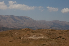 Bsharre, Lebanon hill and mountainside
