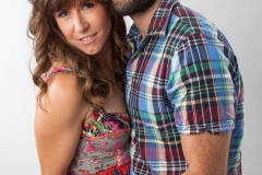 studio photography session with Rachel Blalock and Eric Levinson -  Leyla Sharabi Photography