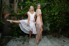 Savannah & Tara Lynn Hubbard photographed in Miami Beach by Leyla Sharabi Photography