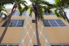 architecture in vicnity of Euclid Avenue of South Beach, Miami