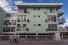 architecture on Pennsylvania Avenue of South Beach, Miami
